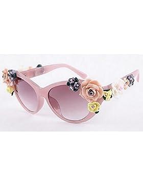 XIAOLIN Gafas de sol de la personalidad Gafas de sol tridimensionales Gafas de sol HD Protección UV Gafas para...
