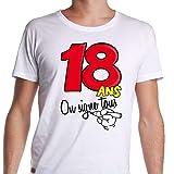 Generique - T-Shirt Age 18 Ans