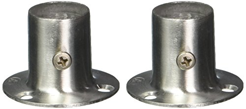 2Stück 19mm x 30mm Edelstahl Kleidung Hebel Sockel Rohr Weld Neck Flansch - 2 Stück Flansch