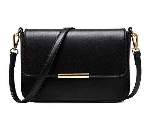 TianHengYi ,  Damen Tornistertasche, Schwarz - schwarz - Größe: S