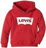 Levi's Kids Sweat à Capuche - Garçon - Rouge (Red 03) - FR: 14 ans (164 cm)