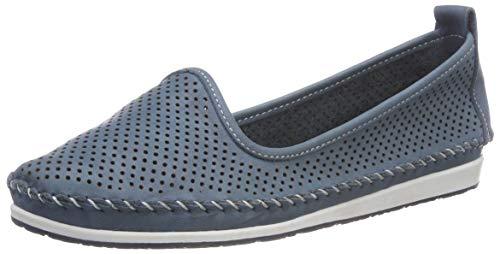 Andrea Conti Damen 0021534 Slipper, Blau (Jeans 274), 37 EU -