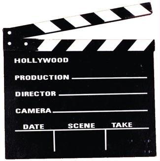 Clacker Hollywood Movie (Hollywood Movie Maske)