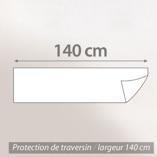 Housse de Protection de traversin absorbante Antonin - Blanc 140 cm image 1
