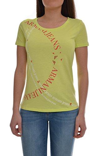 Armani Damen T-Shirt grün hellgrün 34 (Armani Grünen T-shirt)