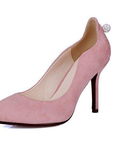 ShangYi Damenschuhe - High Heels - Hochzeit / Kleid / Party & Festivität - Kunstleder - Stöckelabsatz - Absätze / Spitzschuh -Schwarz / Rosa / Pink