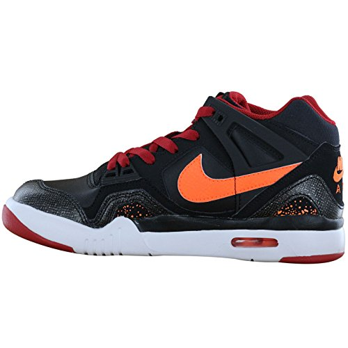 Nike Air Tech Challenge 2 Black Orange Youths Trainers Black Orange