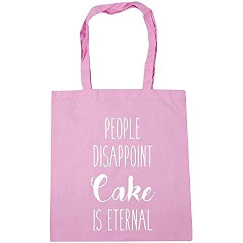 HippoWarehouse , Borsa da spiaggia  (Cupcake Donne Pink T-shirt)