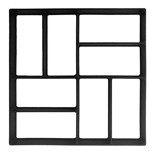 GLOBEAGLE Garten-/Gehweg-Form, selbstgemachte Pflastersteine/Zement/Betonformen Quadratisch