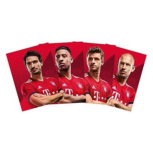 FC Bayern München Spieler Postkarten 30-teilig, Autogrammkarten FCB - Plus Lesezeichen I Love München