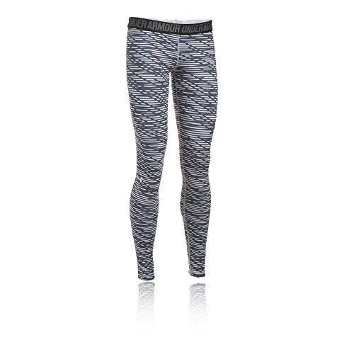 Under Armour Favorite printed legging Women's Sports Leggings (1300181-053_XS_Air Force Grey Heath, Rhino Grey and Metallic Silver)