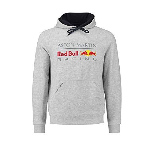 Aston Martin Red Bull Racing Herren Hoody Sweatshirt Pullover grau, M (Pullover Von Red Bull Racing)