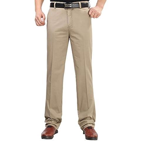 LvRao Uomo Pantaloni Formale e Business - Calzoni Chino Per Primavera Estate e Autunno