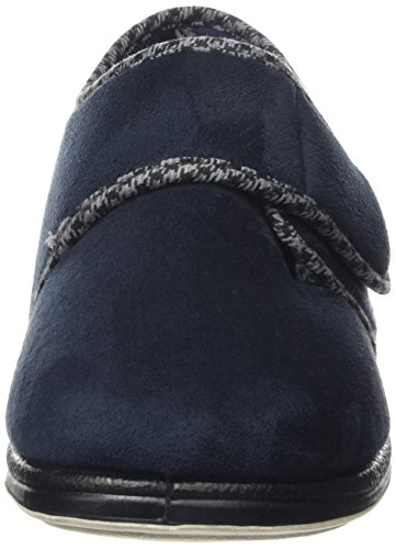 Padders  Harry, Herren Hausschuhe Blau (Marineblau)