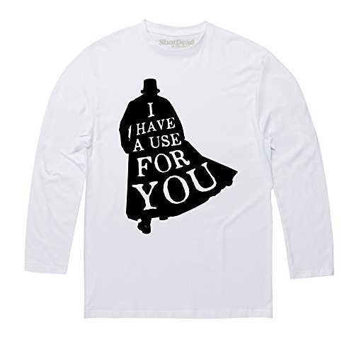 Inspired By Taboo - I Have A Use For You Langarmshirt, Herren Wei
