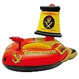 Aufblasbares Piratenschiff PVC Faltbar Einfach Zu Lagern Und Zu Tragen Kinder Wasser Spielzeug Für...