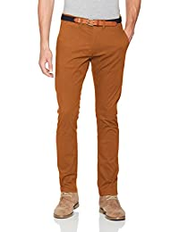 SELECTED HOMME Herren Hose Shhyard Glazed Ginger Slim St Pants Noos