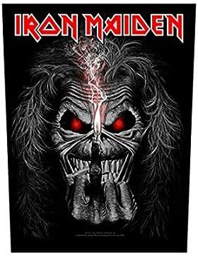 Iron Maiden Espalda parche–Candle Eddie–Iron Maiden Back Patch