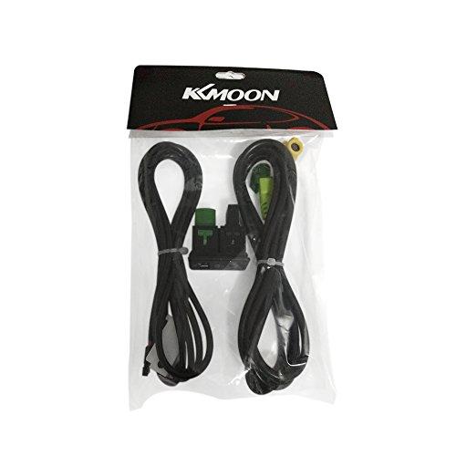 KKMOON USB AUX Audio Kabel Schalter Stecker für VW Passat B6 B7 CC ...