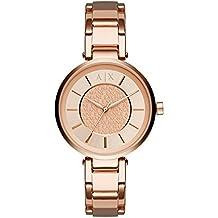 Emporio Armani Exchange Damen-Uhren, roségold, 38 mm, AX5317