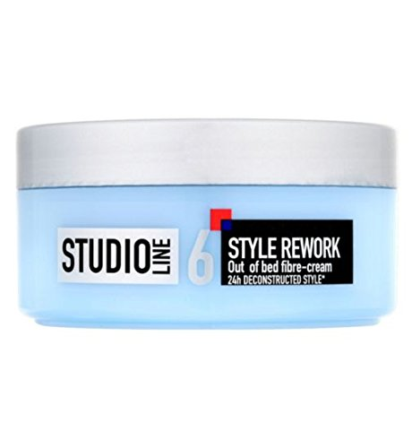 LOREAL PARIS STUDIO LINE 6 STYLE REWORK 24HR Out of Bed Fibre-Hair Styling Cr...