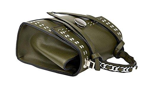 Liu Nagelhand Mode Handtasche Schultertasche Diagonal Paket Brown