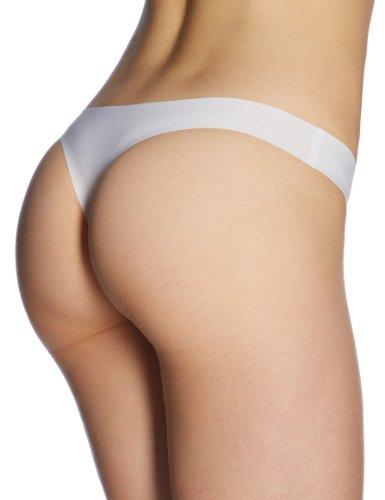 Schiesser Damen Slip Hip-string Weiß (100-weiss)