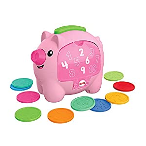 Fisher-Price Laugh & Learn Count & Rumble-Hucha Musical para bebé, Multicolor (Mattel GJC68)