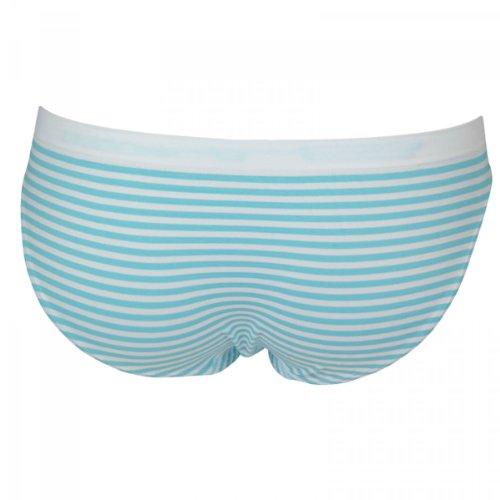 6er Pack Damen Slips gestreift in 6 Farben Mehrfarbig