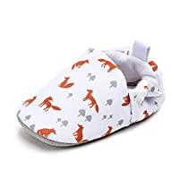 Amaliy Newborn Baby Shoes Girl Boy Infant Shoes First Walking Shoes 0-18 Months (12-18 Months, White)