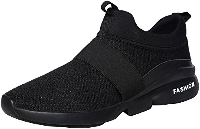 Wealsex Zapatos Para Correr EN Montaña Asfalto Aire Libre Deportes Zapatillas De Running Para Hombre Transpirable