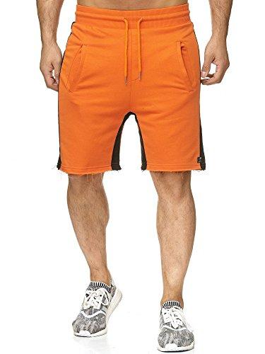 61a904a0539f Red Bridge Herren Short Kurze Hose Sweatpant Jogginghose Chill Bill Orange  XL