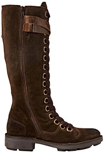 FLY London Neli, Bottes Rangers Femme Marron (Sludge/Olive 006)