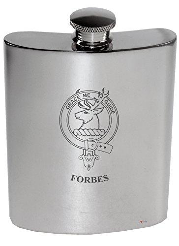 forbes-family-crest-6oz-polished-pewter-kidney-flask