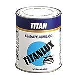 TITAN - ESMALTE ACRILICO BRILLANTE BLANCO NIEVE 4 LT