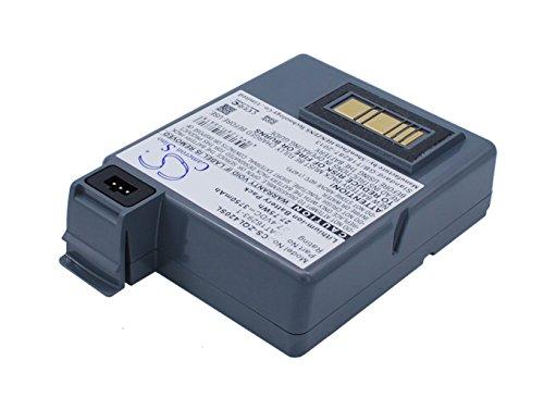 techgicoo 3750mAh/27,75WH Akku kompatibel mit Zebra QL420, Q420Plus, P4T, RP4T -