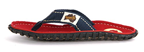 Gumbies, Infradito donna Red/Navy Strap Coast