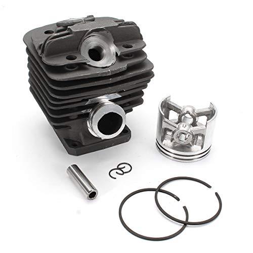 Vpqtettuecu Motorblöcke, 48mm Zylinderkolbenringsätze for Stihl 034 036 MS360 MS340 Kettensäge