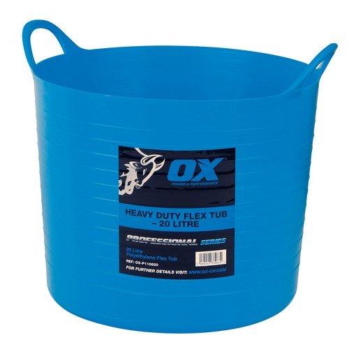 Ox Pro Heavy Duty Flexi Tub 20L (P110620) Test