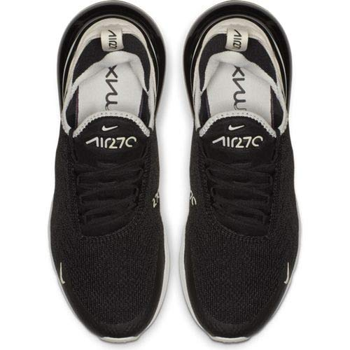 Nike W Air Max 270, Chaussures d'Athlétisme Femme, Multicolore (Black Light Bone 010), 36 EU