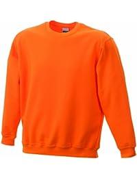 James /& Nicholson Jungen Round-Sweat Heavy Junior Sweatshirt