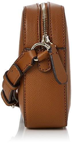 Guess Damen Hwvg6691120 Schultertasche, 5.5x16x22 centimeters Braun (Cognac)