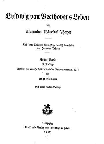 Ludwig Van Beethovens Lebens German Edition Download Pdf Or Read