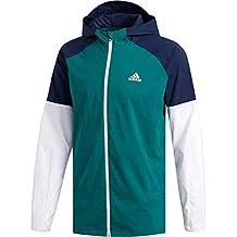 adidas Athletics Sport ID - Sudadera con Capucha (Cremallera Completa) - DM1813, Medium
