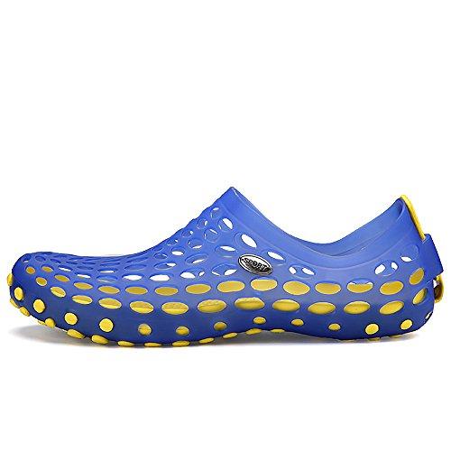 VILOCY Herren Trainingsanzug Schnell trocknend Schwimmen Strandschuhe Aquaschuhe Erwachsene Blau