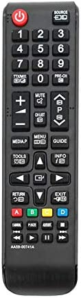 Allimity AA59-00741A Replaced Remote Control fit for Samsung F5000 F5020 Series LED TV UN32F5000 UN46F5000AF U