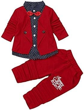 Bekleidung Longra Kleinkind Baby Kinder Gentry Kleidung Set Formal Party Taufe Festlich Hochzeit Tuxedo Smoking...