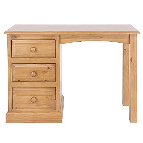 Home Source - Edwardian Era Elegant Solid Pine Single Pedestal