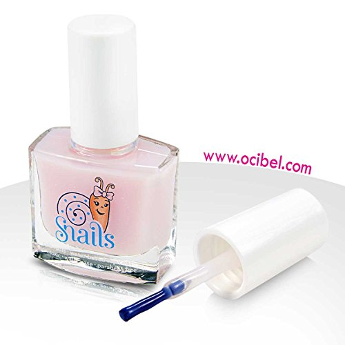 Ocibel - Vernis à ongles Enfant Snails Top Coat Naturel - 10.5 ml - Manucure, Faux Ongles et Nail Art