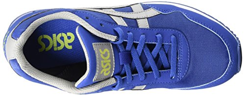Asics Curreo, Baskets Basses Mixte Adulte, White Bleu (dark Blue/mid Grey 4912)
